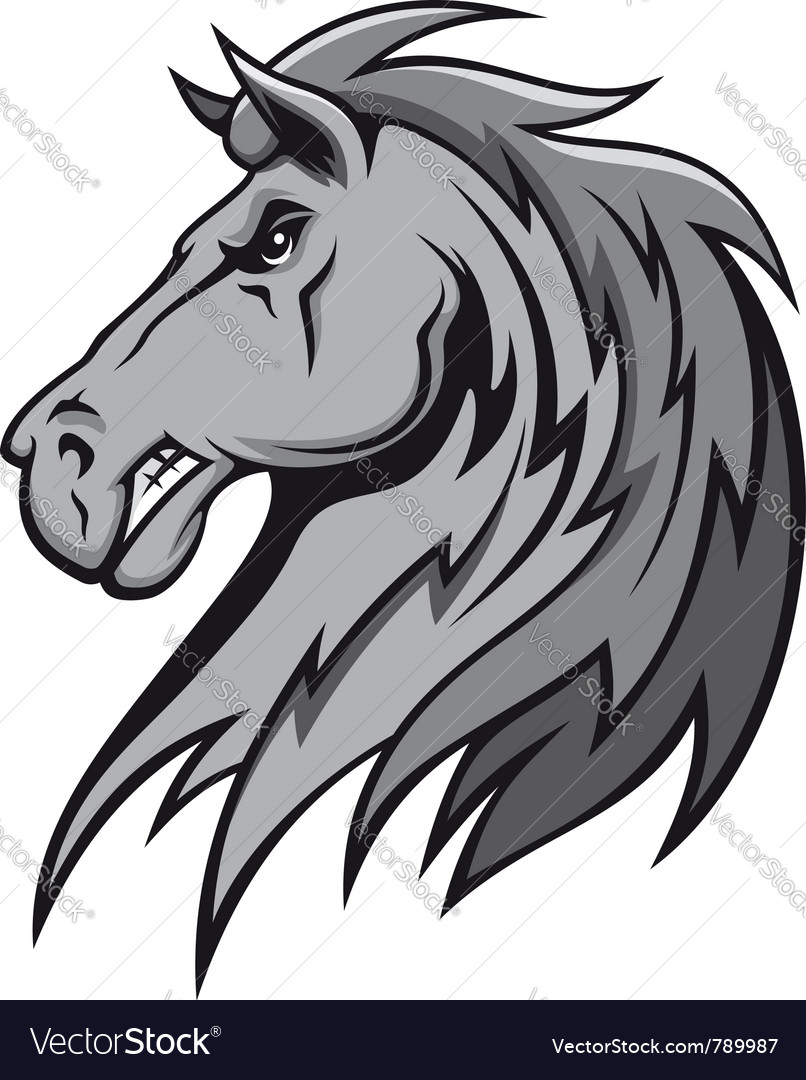 Wild stallion vector | Price: 1 Credit (USD $1)