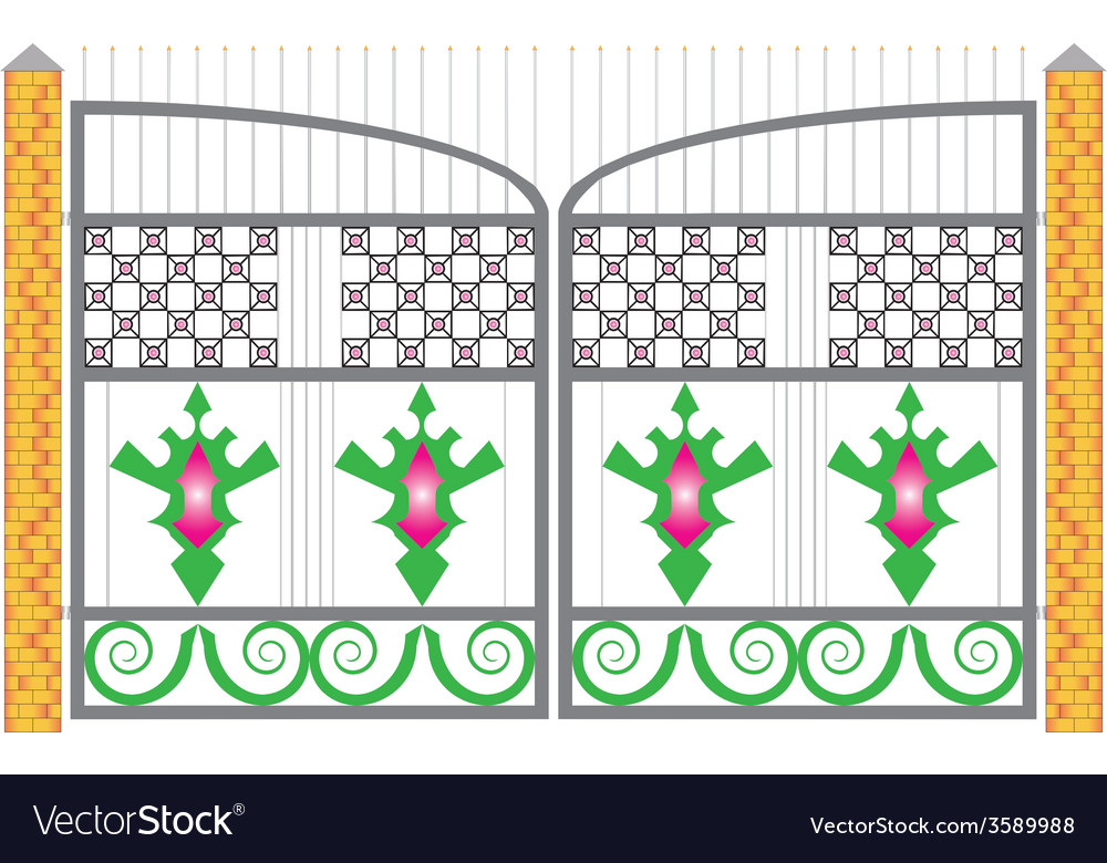Gate vector | Price: 1 Credit (USD $1)
