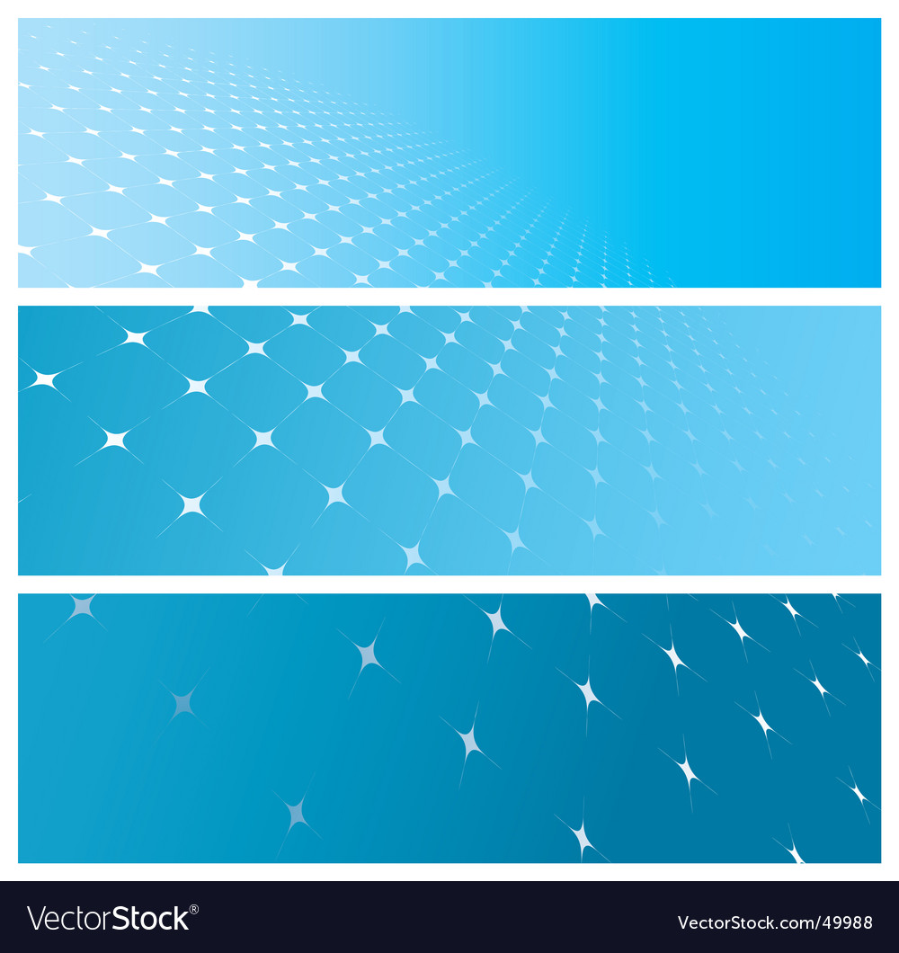Grid banners vector | Price: 1 Credit (USD $1)