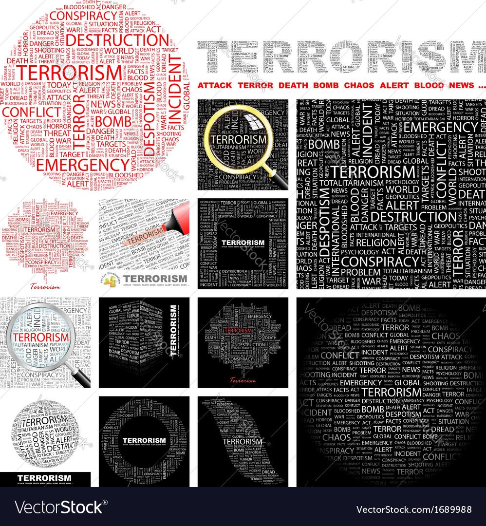 Terrorism vector | Price: 1 Credit (USD $1)