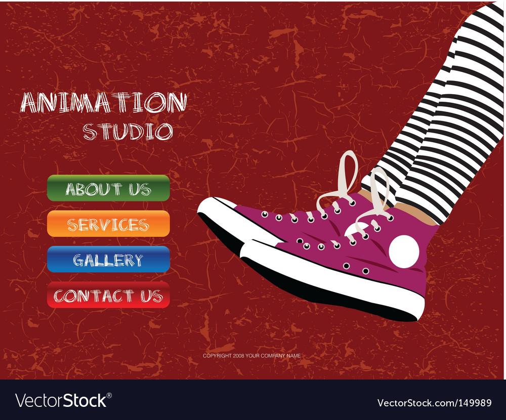 Animation studio vector   Price: 1 Credit (USD $1)