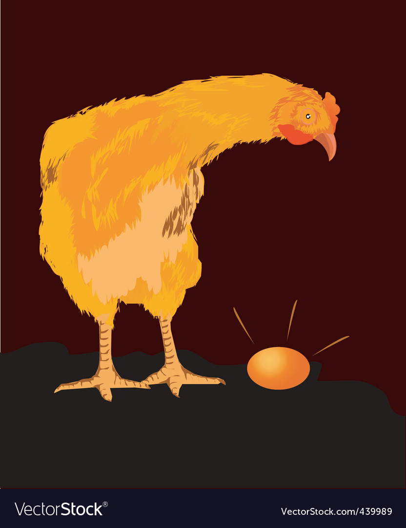 Hen vector | Price: 1 Credit (USD $1)