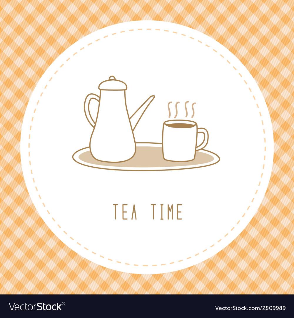 Tea time3 vector   Price: 1 Credit (USD $1)