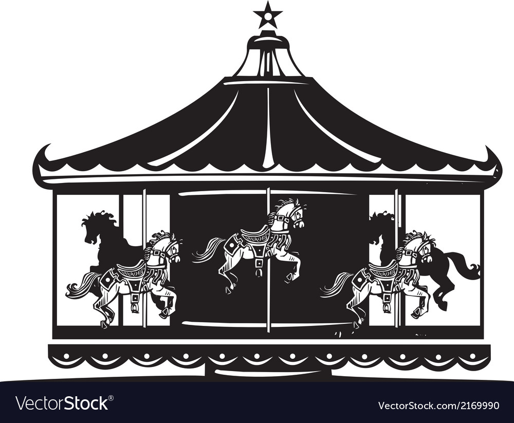 Carousel vector | Price: 1 Credit (USD $1)