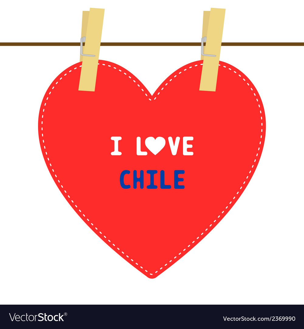 I love chile6 vector | Price: 1 Credit (USD $1)