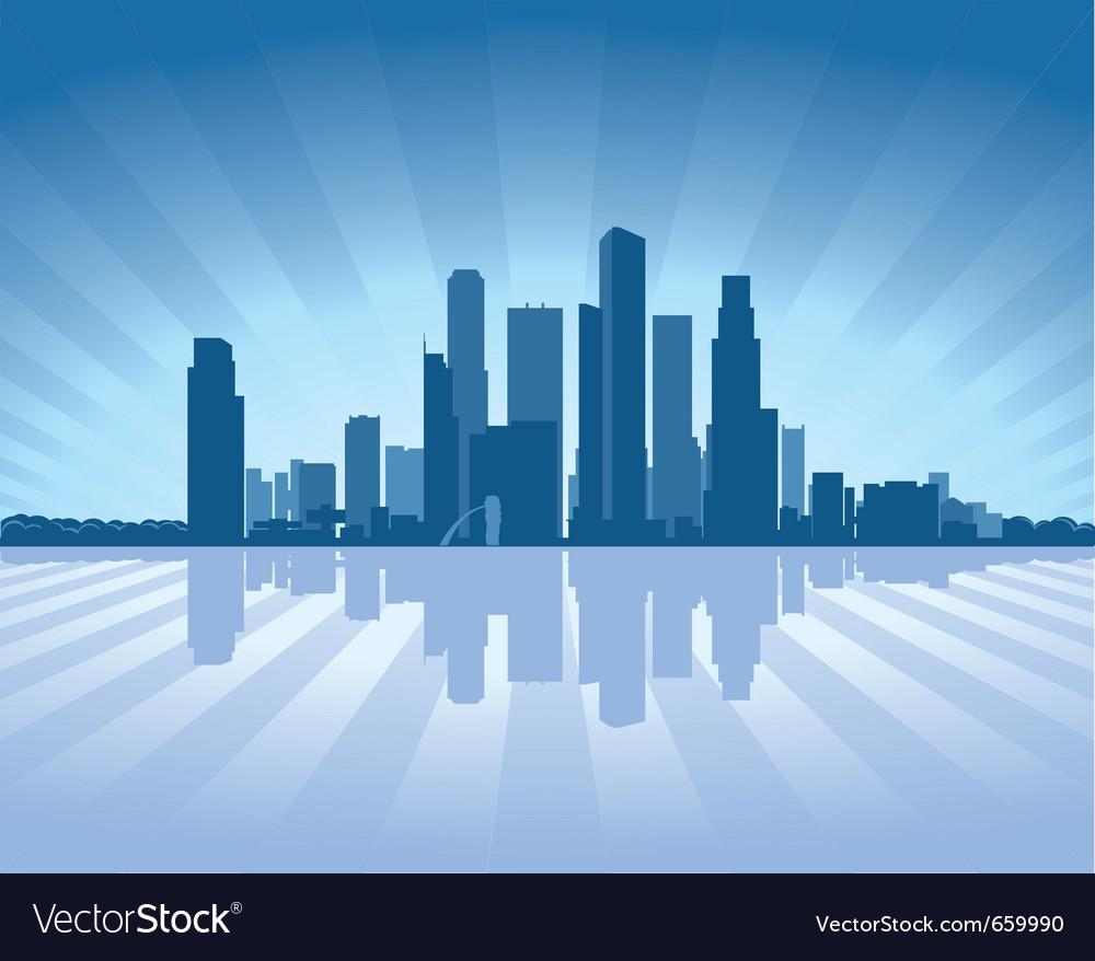 Singapore skyline vector   Price: 1 Credit (USD $1)