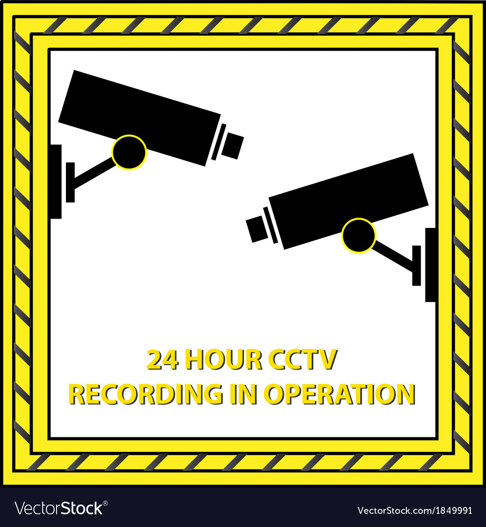24 hour cctv recording vector | Price: 1 Credit (USD $1)