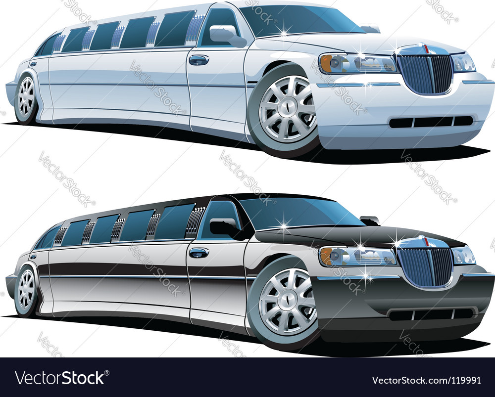 Cartoon limousines vector | Price: 3 Credit (USD $3)
