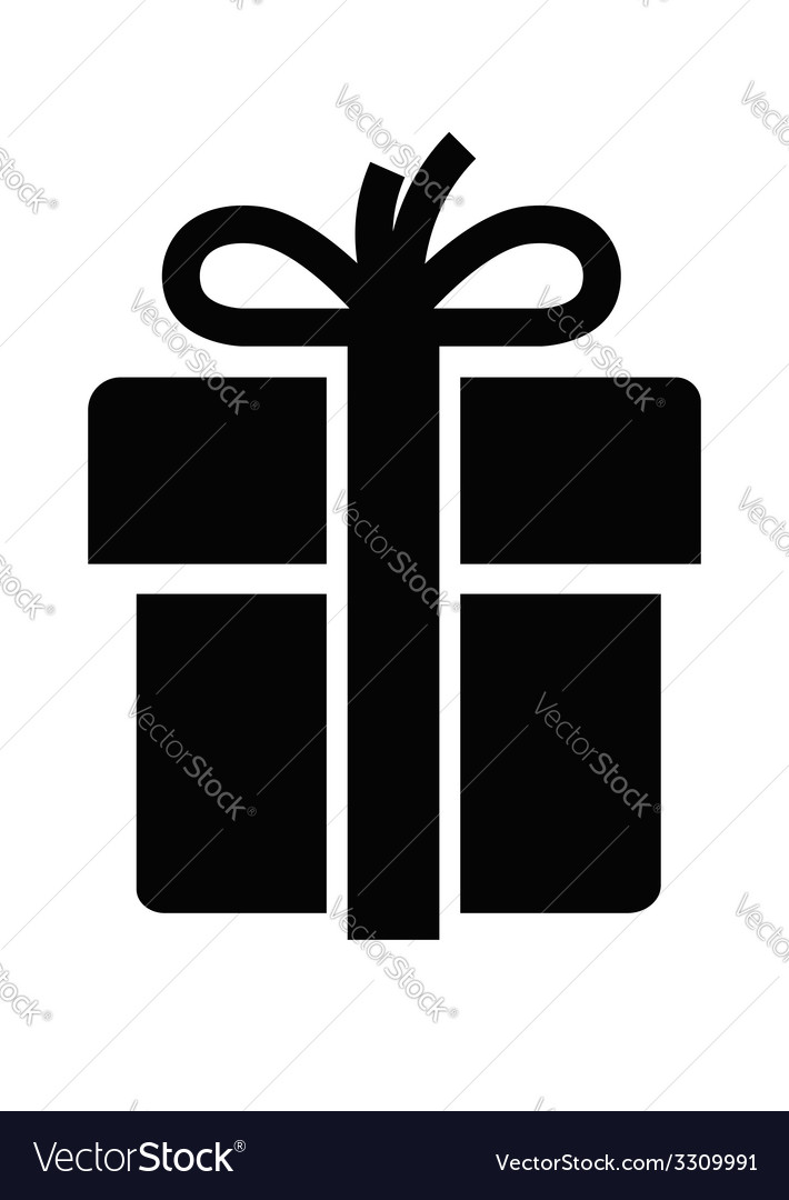 Gift icon vector | Price: 1 Credit (USD $1)