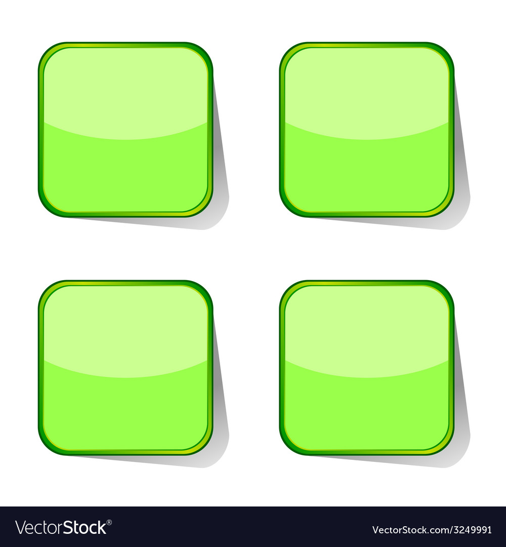 Stickers green vector | Price: 1 Credit (USD $1)