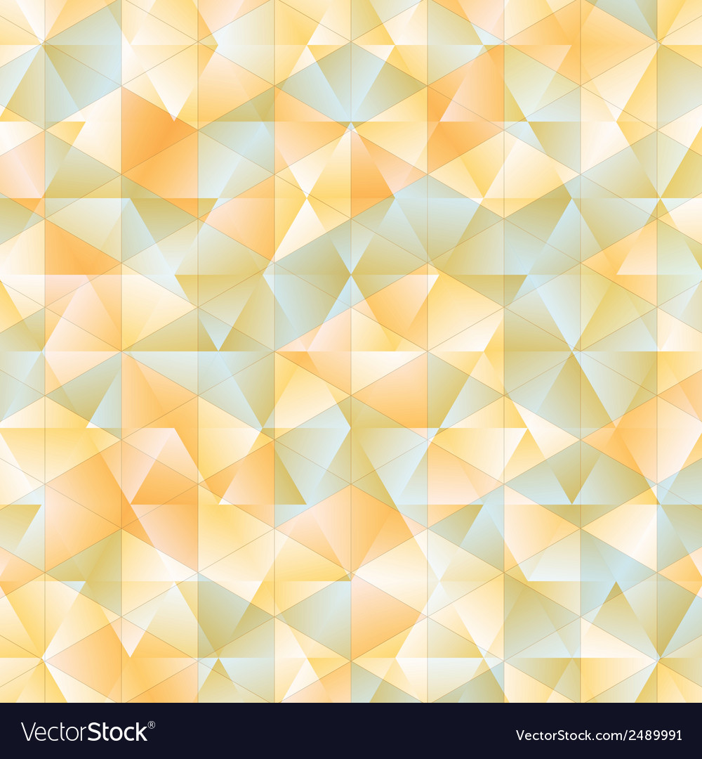 Warm abstract triangular background vector | Price: 1 Credit (USD $1)