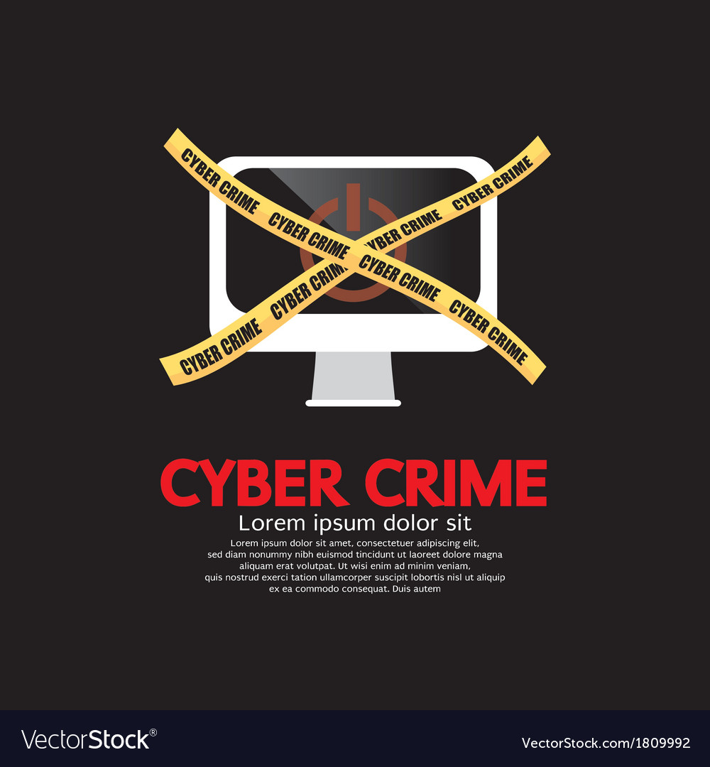Cyber crime vector | Price: 1 Credit (USD $1)