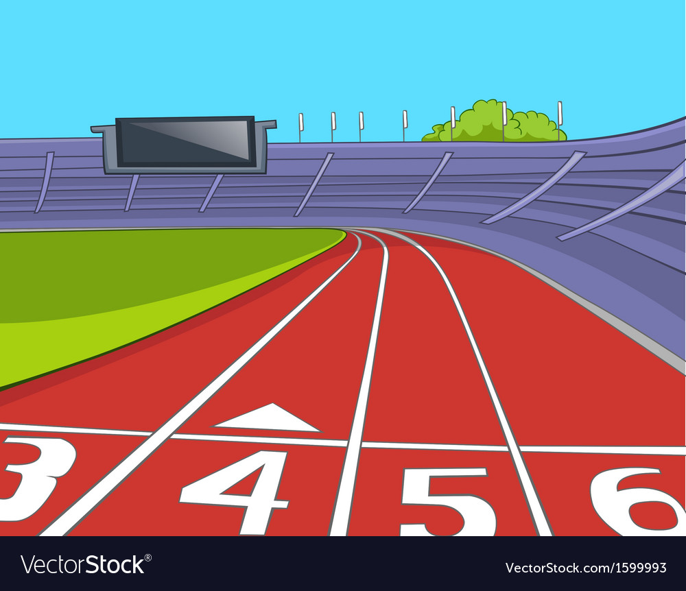 American football stadium vector | Price: 1 Credit (USD $1)