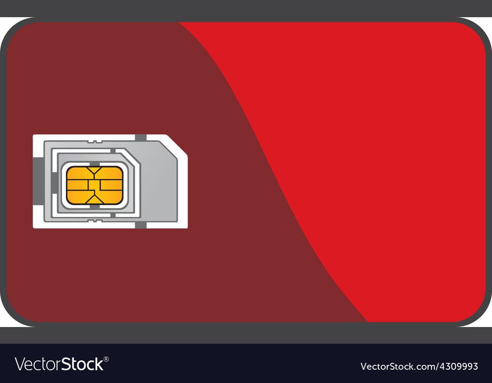 Blank sim card vector   Price: 1 Credit (USD $1)