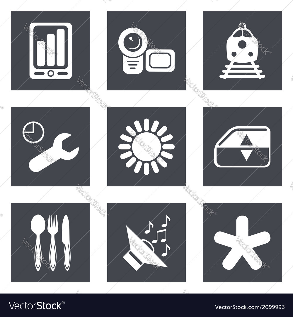 Icons for web design set 50 vector | Price: 1 Credit (USD $1)