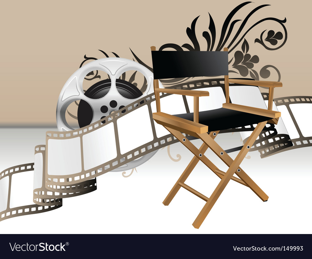 Movie set vector | Price: 1 Credit (USD $1)