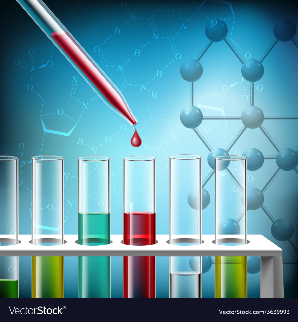 Science research closeup vector | Price: 1 Credit (USD $1)