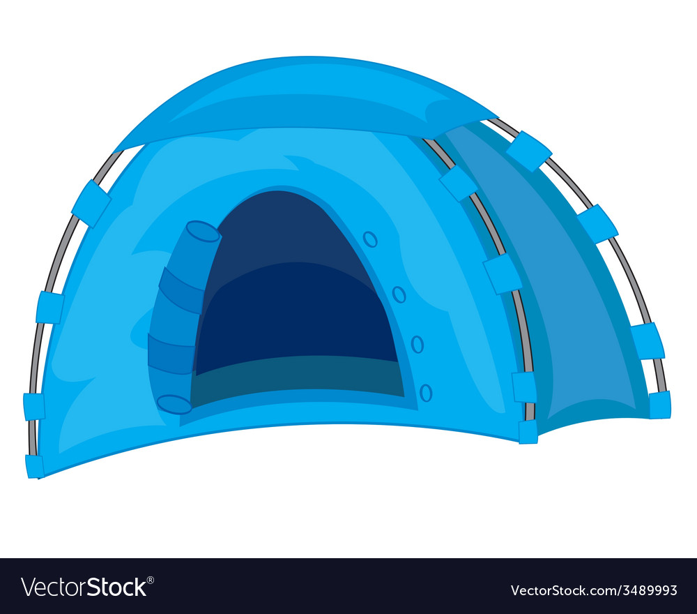 Tourist tent vector | Price: 1 Credit (USD $1)