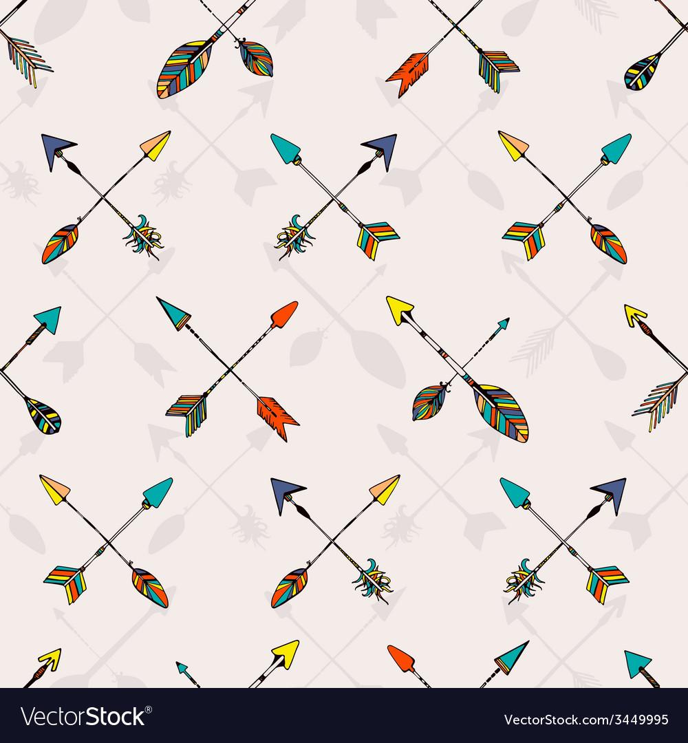 Ethnic pattern vector | Price: 1 Credit (USD $1)