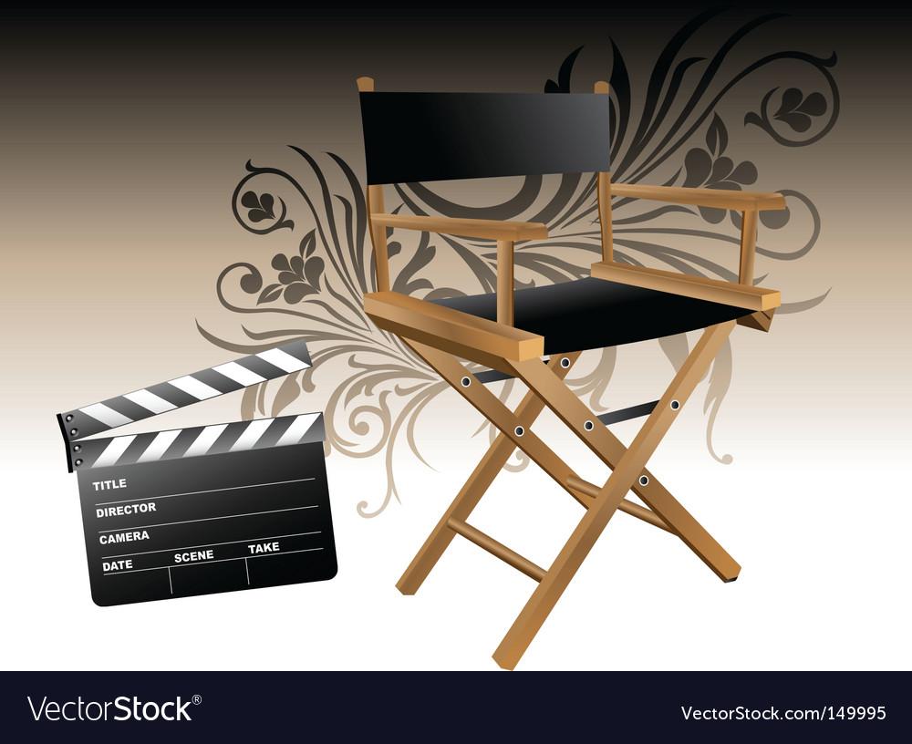 Movie set vector | Price: 1 Credit (USD $1)