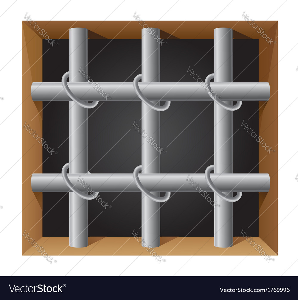 Prison bar 01 vector | Price: 1 Credit (USD $1)