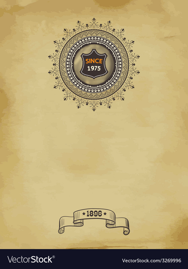 Retro card vector | Price: 1 Credit (USD $1)