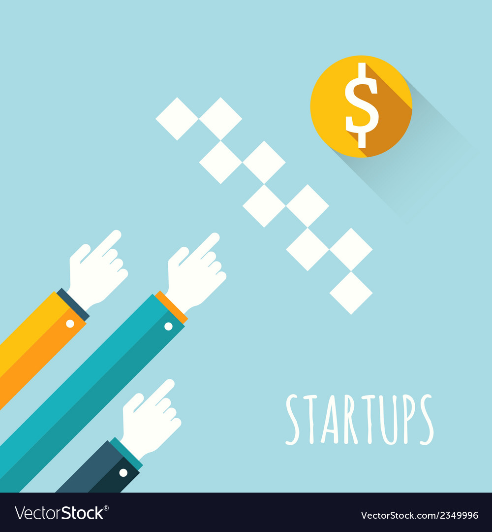 Startups vector | Price: 1 Credit (USD $1)