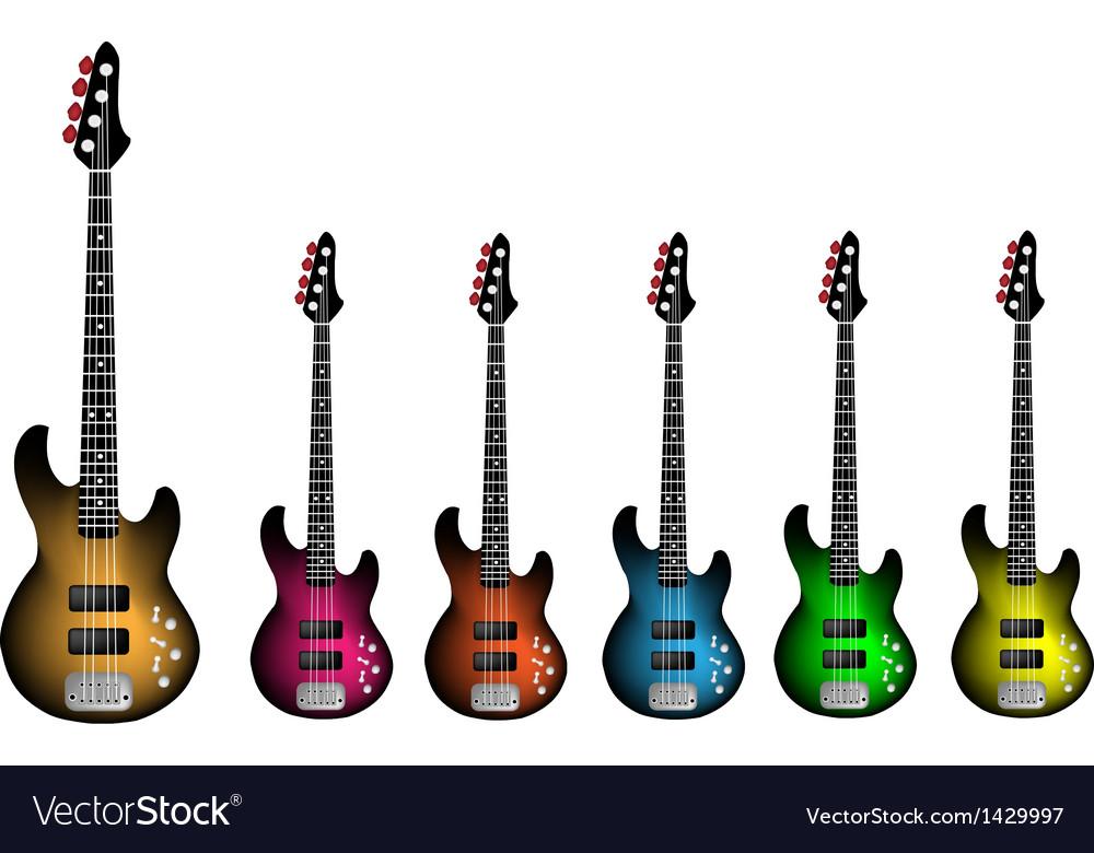Beautiful heavy metal electric guitar vector | Price: 1 Credit (USD $1)