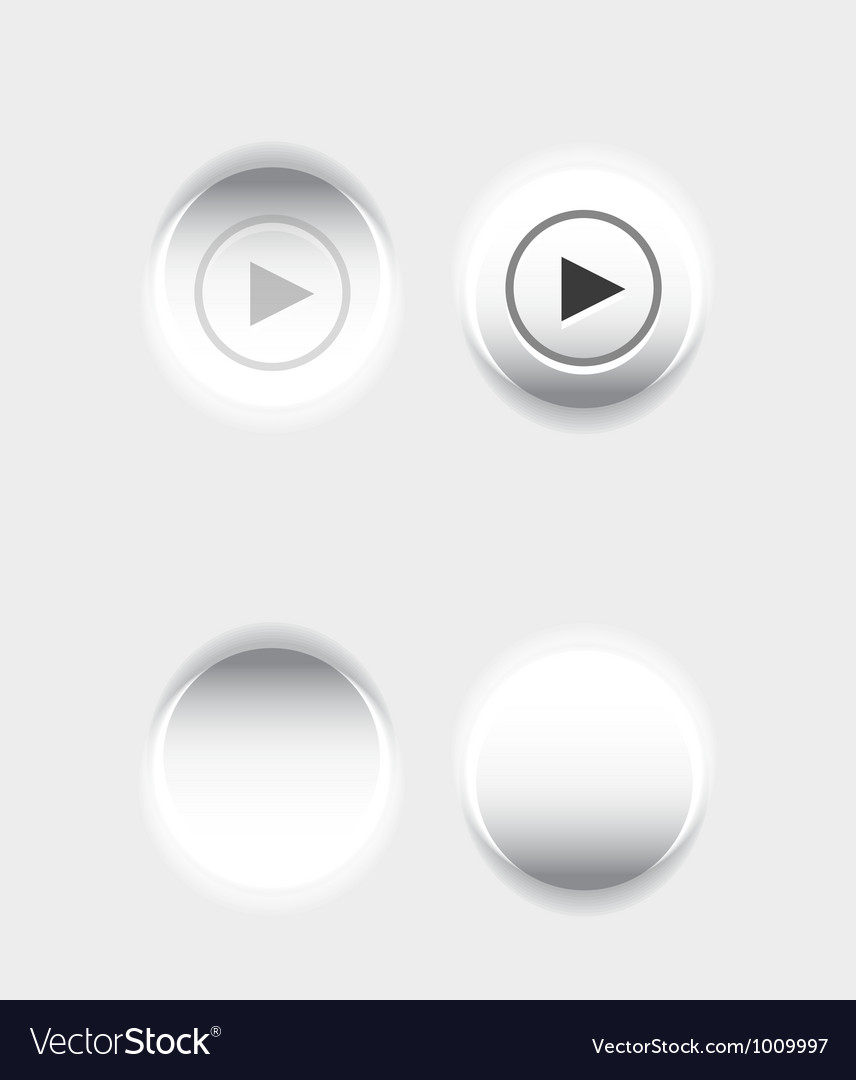 Pushed button vector | Price: 1 Credit (USD $1)