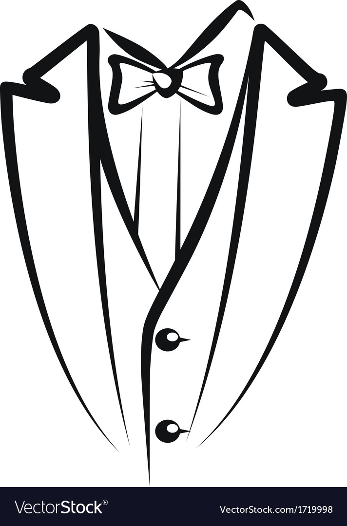 Tuxedo vector | Price: 1 Credit (USD $1)