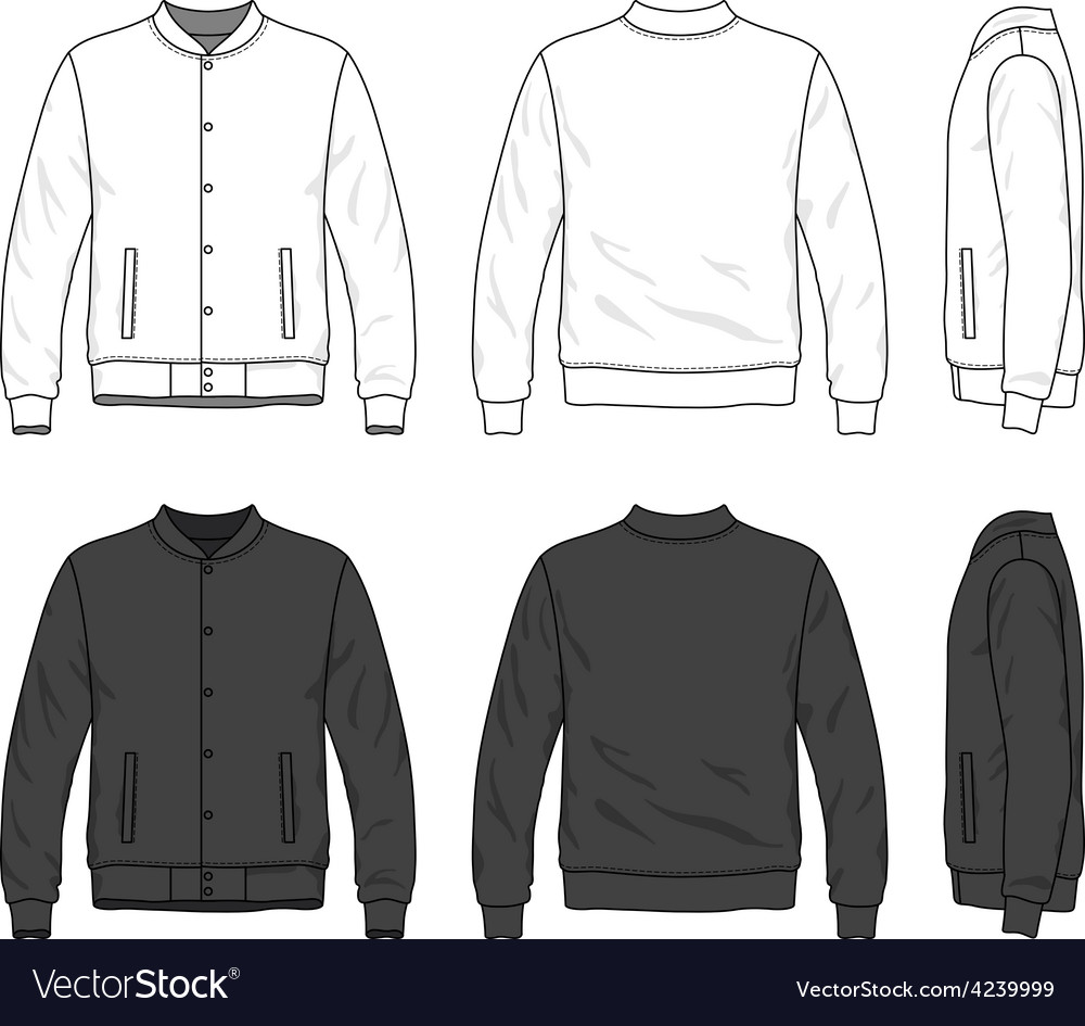Bomber jacket vector | Price: 1 Credit (USD $1)
