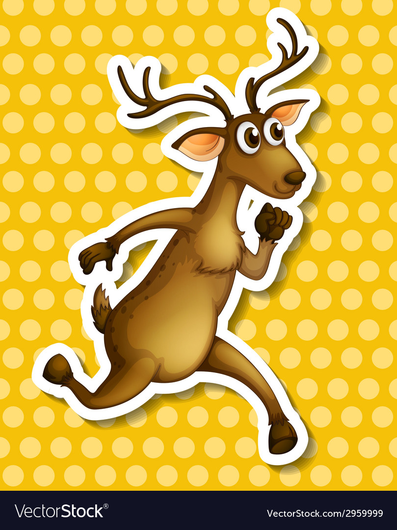 Deer vector   Price: 1 Credit (USD $1)