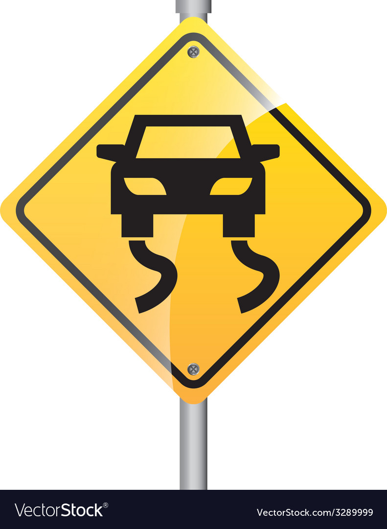 Road signal design vector | Price: 1 Credit (USD $1)