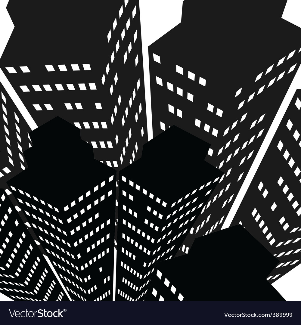 Skyscrapers icon vector   Price: 1 Credit (USD $1)