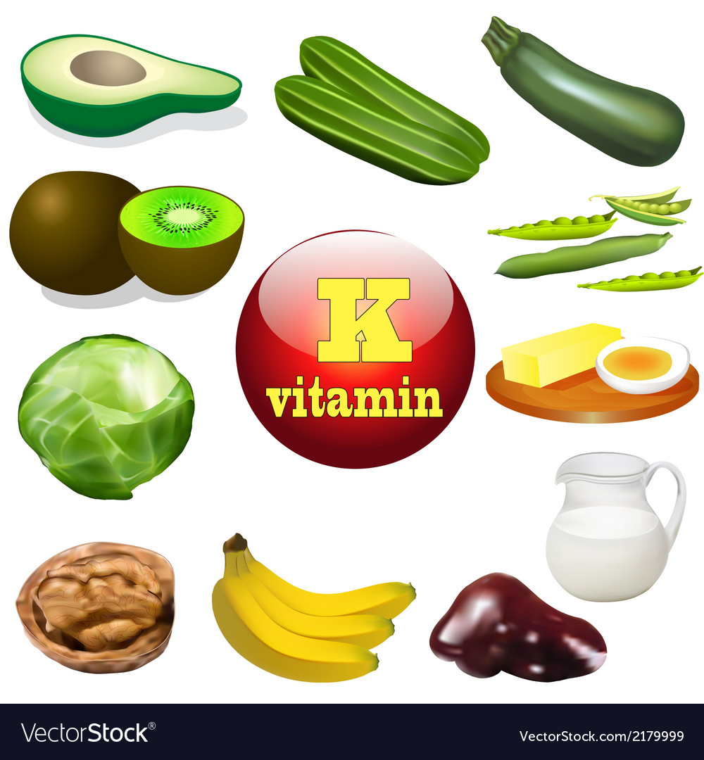Vitamin k vector | Price: 1 Credit (USD $1)