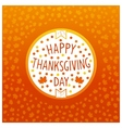 Thanksgiving day icon vector