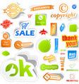 Sticker set for sale vector