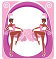 Showgirls poster vector