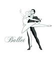 Ballet symbol vector