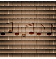 Music elements notes web icon flat design vector