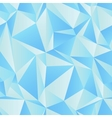 Seamless triangle background vector