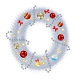 Abstract beauty christmas and new year abc vector