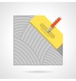 Colorful icon for flooring vector