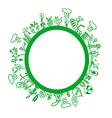Green environment symbols vector
