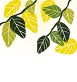Leaf spring - background vector