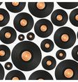 Long play lp audio music media symbol seamless vector