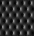 Black leather upholstery pattern vector