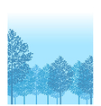 Forest woods background vector