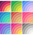 Trendy backgrounds pack of colorful gradients vector