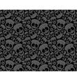 Wallpaper funny skulls vector